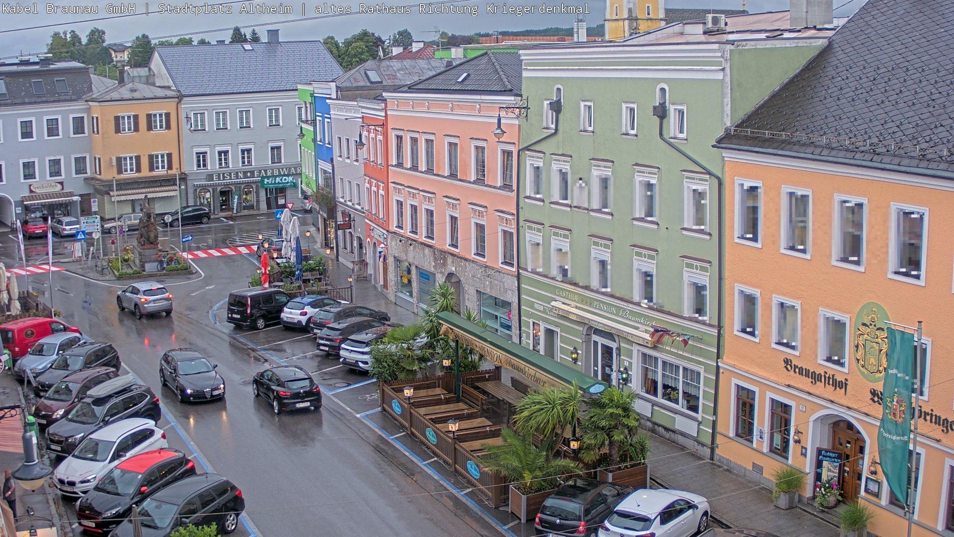 Statdtplatz von Altheim