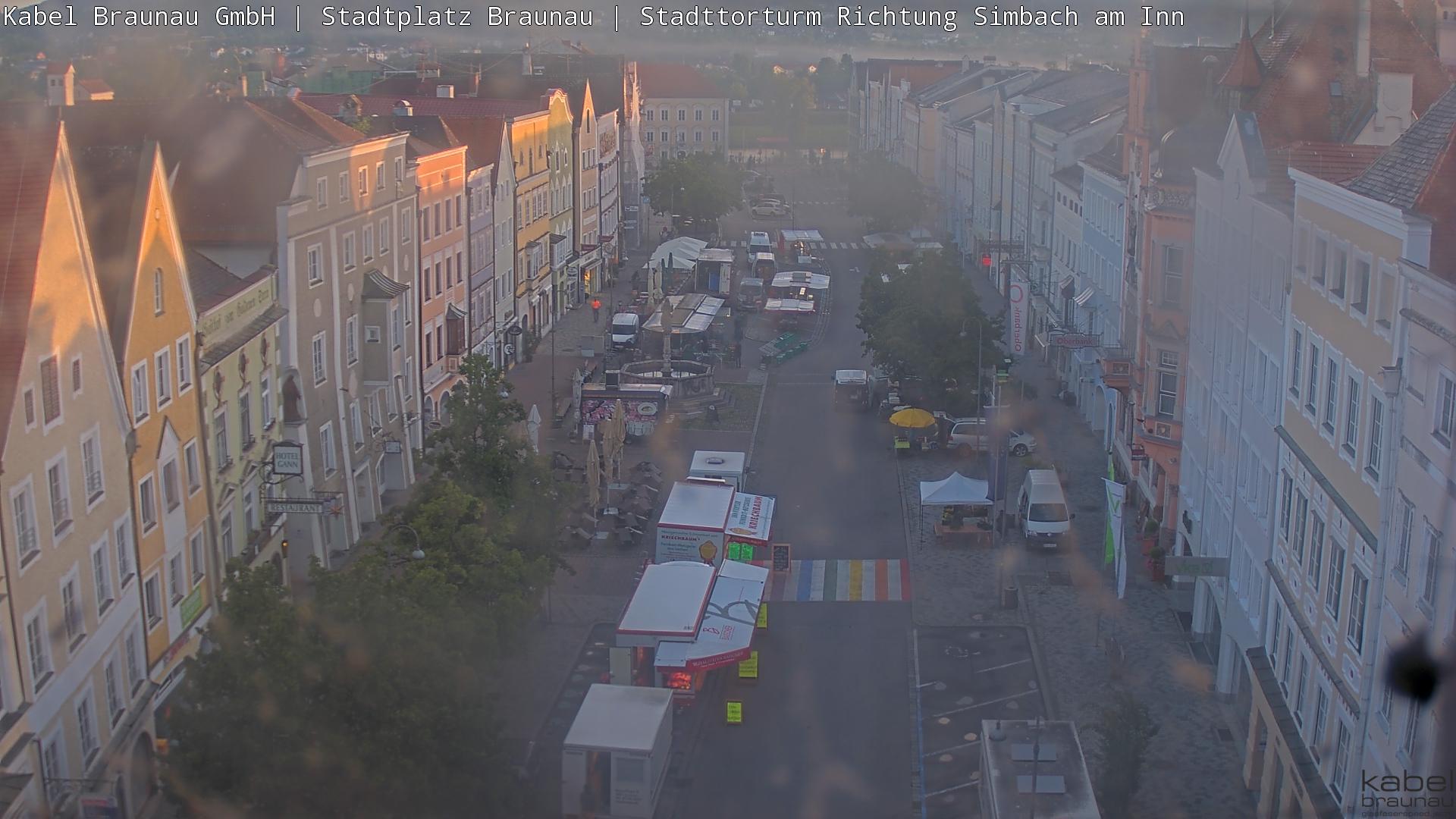 Stadtplatz von Braunau